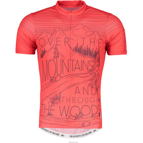 Maloja SentM. Short Sleeve Bike Jersey Men red poppy
